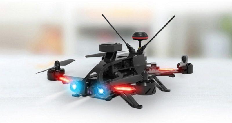 Walkera MR Drone 的本體:四旋翼結構的 FPV 穿越機。