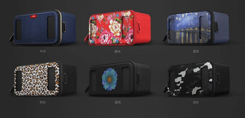 小米 VR 眼鏡玩具版可讓用戶訂製豹紋、迷彩、花紋等款式。