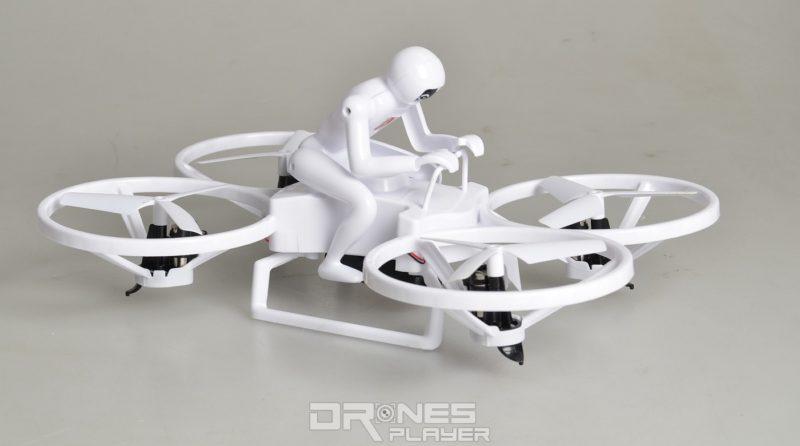 Create Toys E902 機身呈長方形,跟一般四軸機的正方形機身設計略有不同。