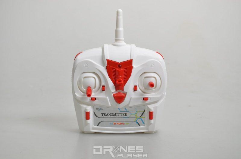 Create Toys E902 遙控器屬中型,並設有多個功能鍵。