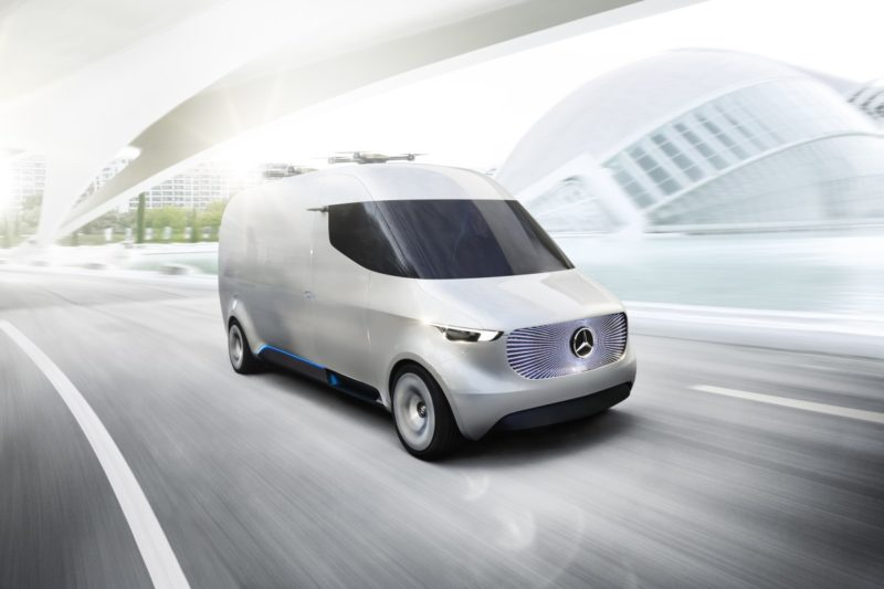 Mercedes Benz - Vision Van 電動車