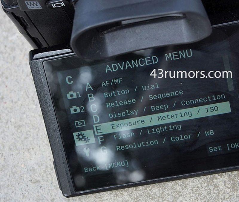 43Rumors 貼出一張疑似是 Olympus E-M1 Mark II 操作選單的諜照,惟照片中 E-M1 Mark II 機背跟 E-M1 卻是異常相像。
