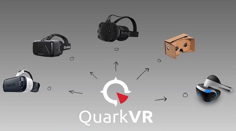 來自保加利亞的 Quark VR 現已為市面上主流的 VR 眼鏡型號提供解決方案。