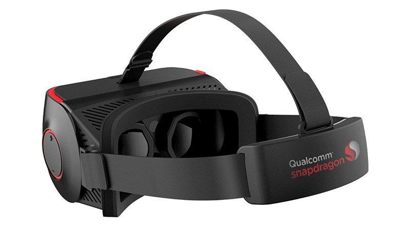 Qualcomm Snapdragon VR820 內部設有兩組鏡頭,可追蹤眼球移動軌跡。