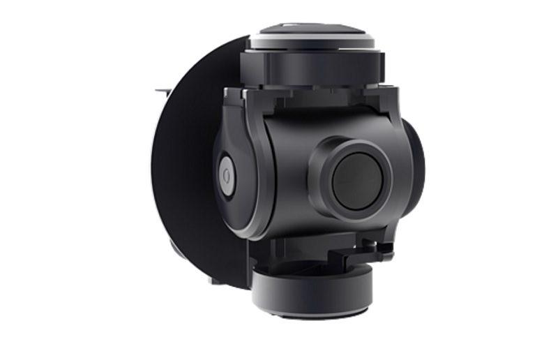 Zerotech Rollcap 內置三軸機械雲台,移動幅度為俯仰 30 度、水平 40 度、橫滾 85 度。