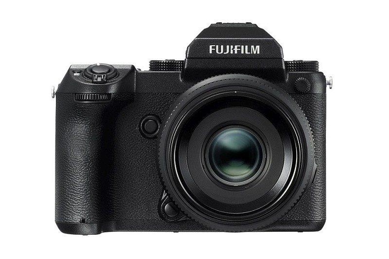 Fujifilm GFX 50S 機身正面