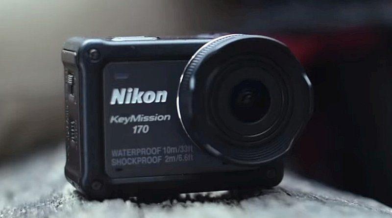 Nikon KeyMission 170配備 170 度超廣角鏡頭,又擁有四防功能,明顯是要跟 GoPro Hero 5 正面交鋒。