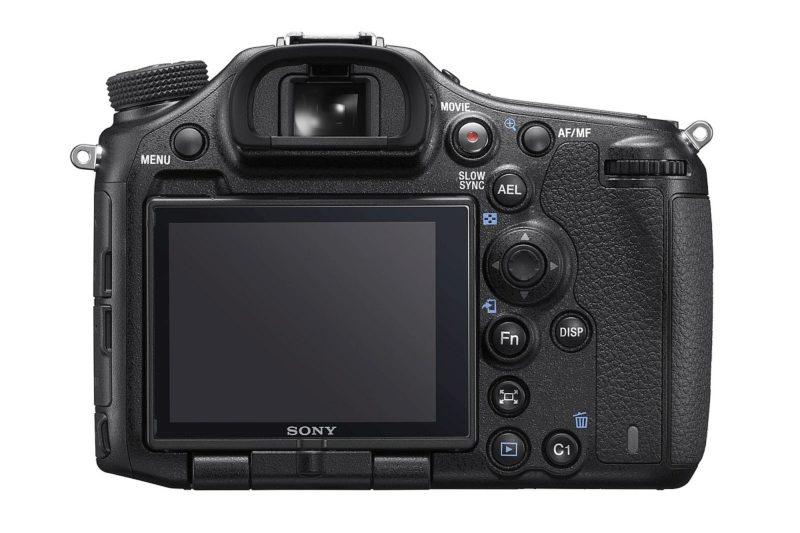 Sony A99 II 單眼反光相機的機身背面