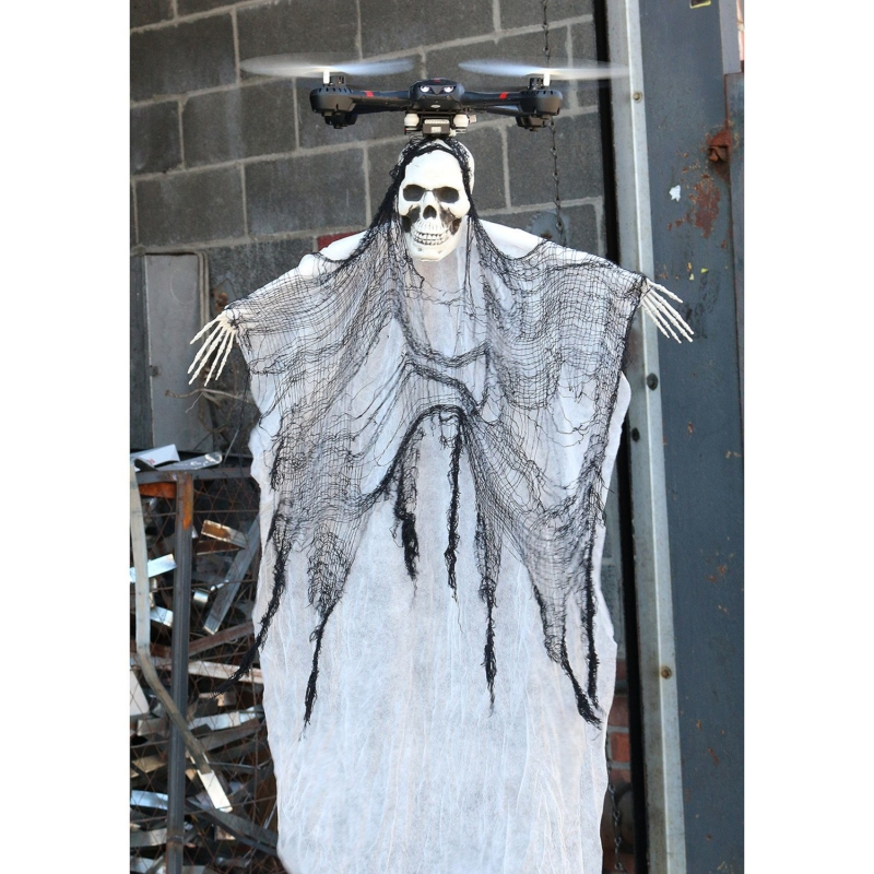 相較起來,這款正在發售的無人機連鬼怪服飾,造型還沒那麼恐怖。