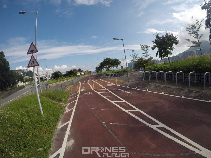 GoPro HERO 5 Black 色調自然飽滿,踩單車期間拍攝的照片亦清晰銳利。