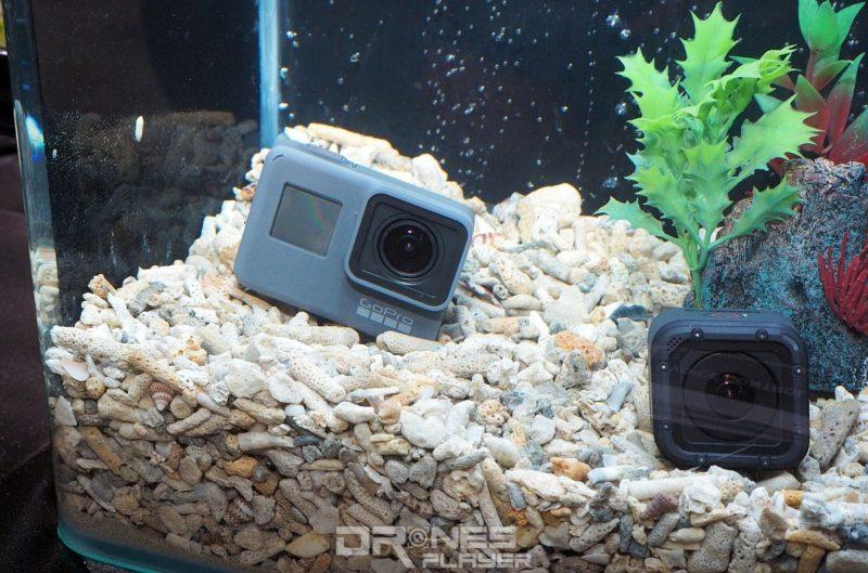 GoPro HERO 5 Black 無需加裝防水殼已擁有 10 米防水能力。