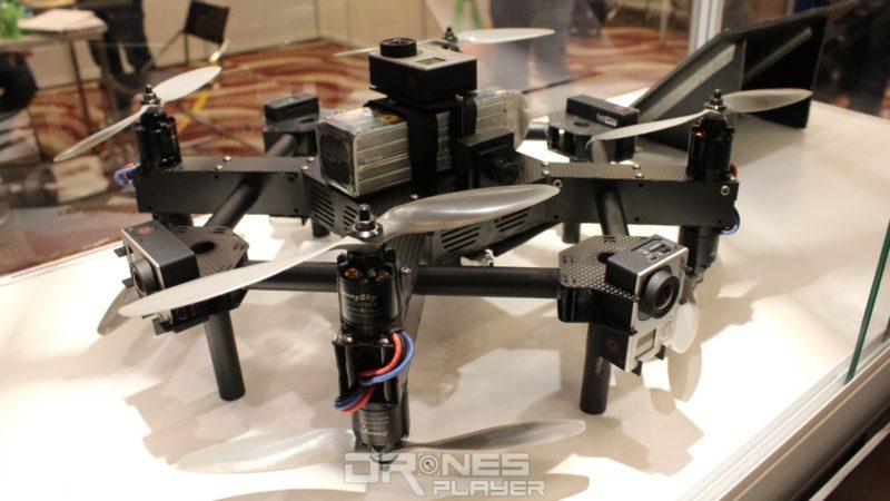 Panoera VRDrone-S 飛行器
