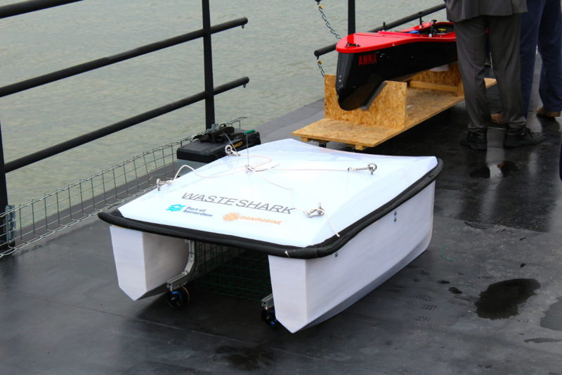 Water Shark 水上無人機的原型機。