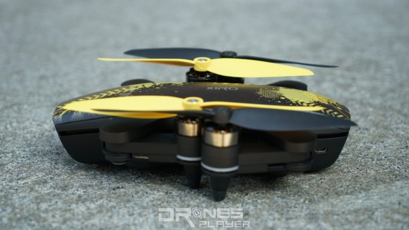 Xiro Xplorer Mini 摺起側面