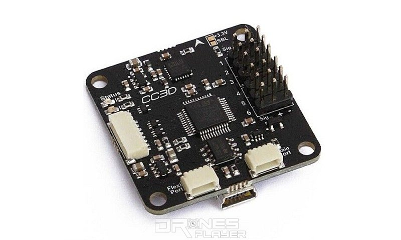 CC3D 飛控板只需幾百元台幣即可購入,令無人機的製作成本大減。
