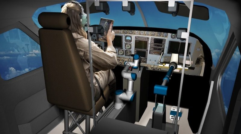 darpa-robot 機械人操控飛行測試