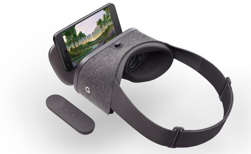 揭開 Daydream View 面蓋,就可放入手機;合上面蓋後,手機便會自動切換到 VR 模式,現已率先支援 Pixel 系列手機。