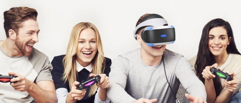 PS VR 背靠 Sony PlayStation 4,故先天上已有龐大潛在用戶群。
