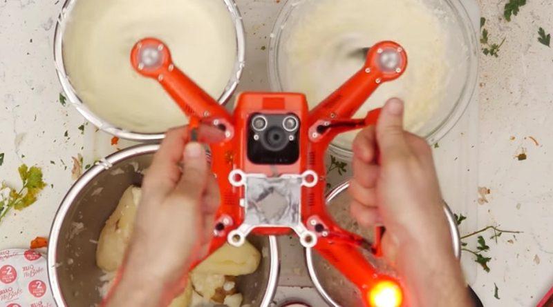 無人機變感恩節大餐料理神器