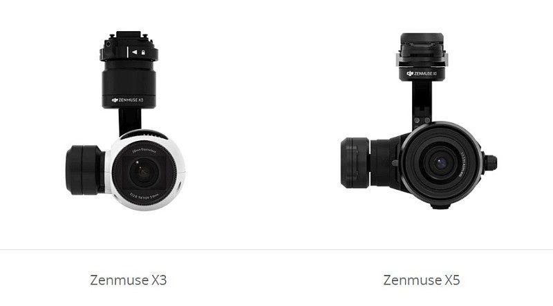跟 DJI Inspire 2 一同發表的新品,可能還包括 Zenmuse X3 與 Zenmuse X5 航拍相機的後續版本「X4S」與「X5S」。