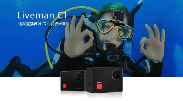4K 運動直播相機 Liveman C1