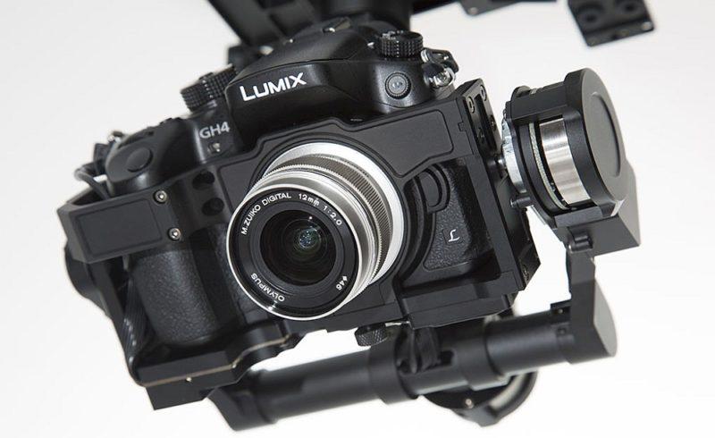 Panasonic LUMIX GH4 是熱門的航拍影片攝製器材。
