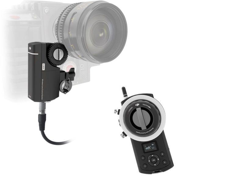 無線追焦系統可讓航拍師遙距調控相機的對焦點。