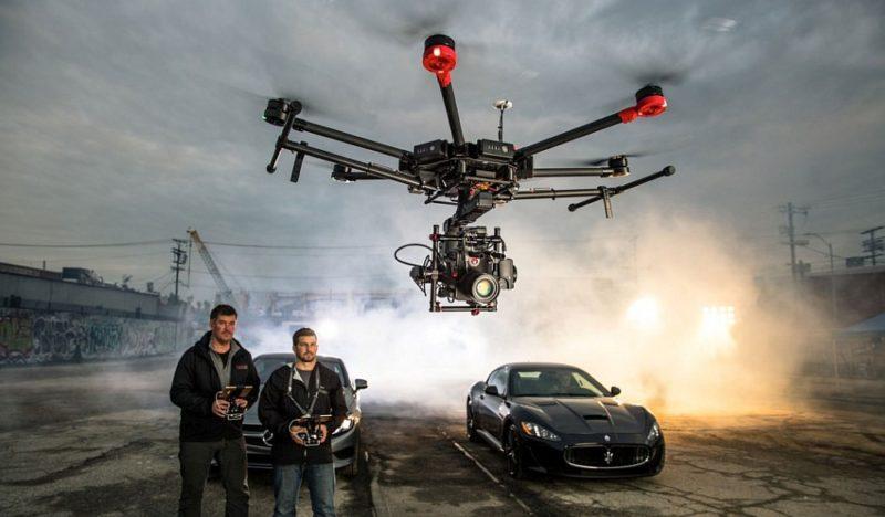 DJI Matrice 600 是專為影視製作而設的飛行平台方案。