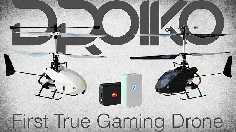 Droiko 無人機外形酷似直升機,現已在 KickStarter 眾籌平台進行募資。