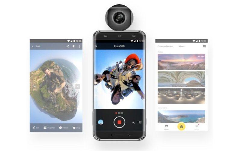 Insta360 Air 可拍攝 2K 影片及 3K 相片,甚至 YouTube 直播也不成問題。