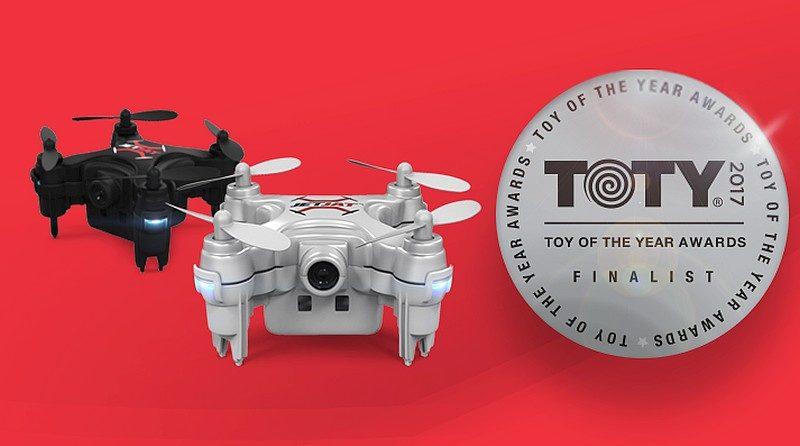JETJAT ULTRA 迷你無人機獲提名為「Toy of the Year 2017」入圍作品。