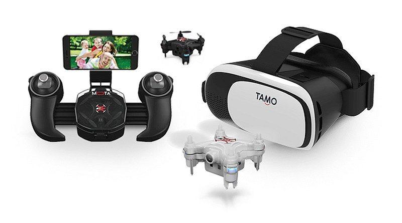 JETJAT ULTRA 搭配 TAMO C-Future VR 眼鏡,即可用 FPV 形式享受第一人稱視角空拍體驗。