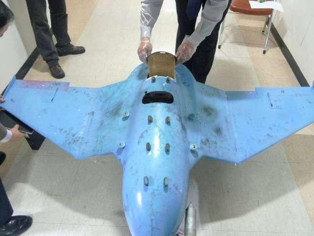 朝鮮無人機曾被發現墜落在韓國境內,拍下照片偵測總統府。 (韓國國防部圖片)
