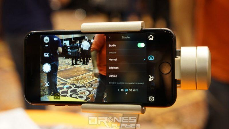 DJI Osmo Mobile Silver - app