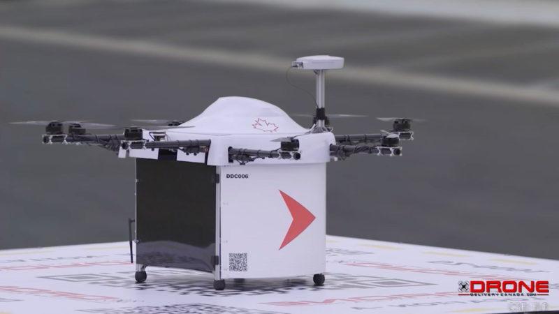 Drone Delivery Canada 飛行器(公司影片截圖)