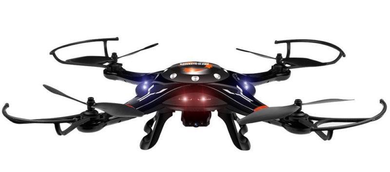 DBPower Hawkeyes 2nd FPV Motion Sensing Quadcopter