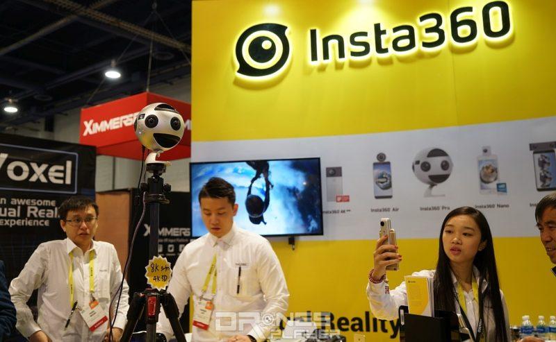 Insta360 Pro 可錄影 8K 全景影像,還可充當實時監控鏡頭。
