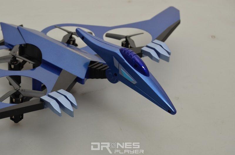 JXD 511V 翼龍無人機的頭部及爪子。