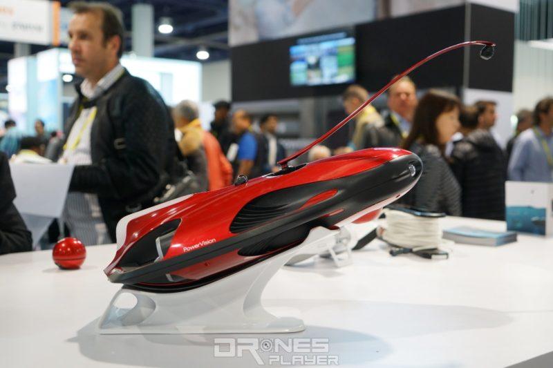 PowerVision PowerRay 紅色版,於 CES 2017