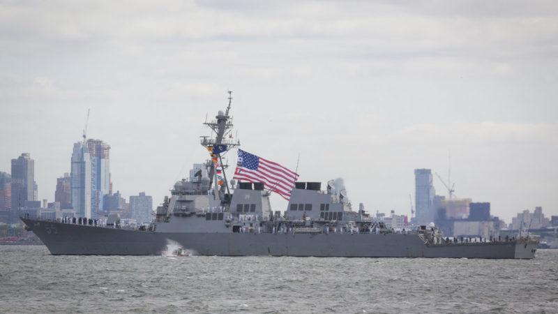 美軍 USS Stout (DDG 55)(照片來源:Glynnis Jones / Shutterstock, Inc.)