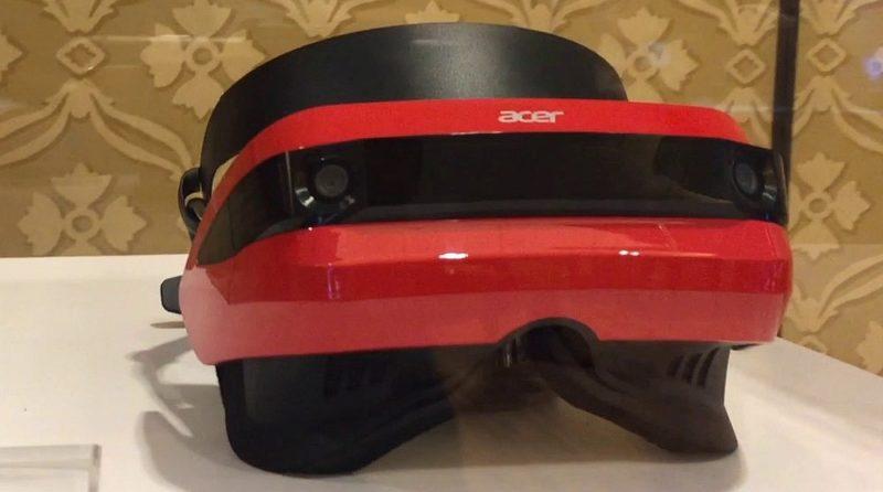 Acer VR 眼鏡採用紅色主調,用色鮮明,吸睛度頗高。