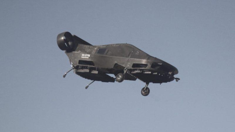 體積龐大的 Cormorant 完成自動飛行測試。