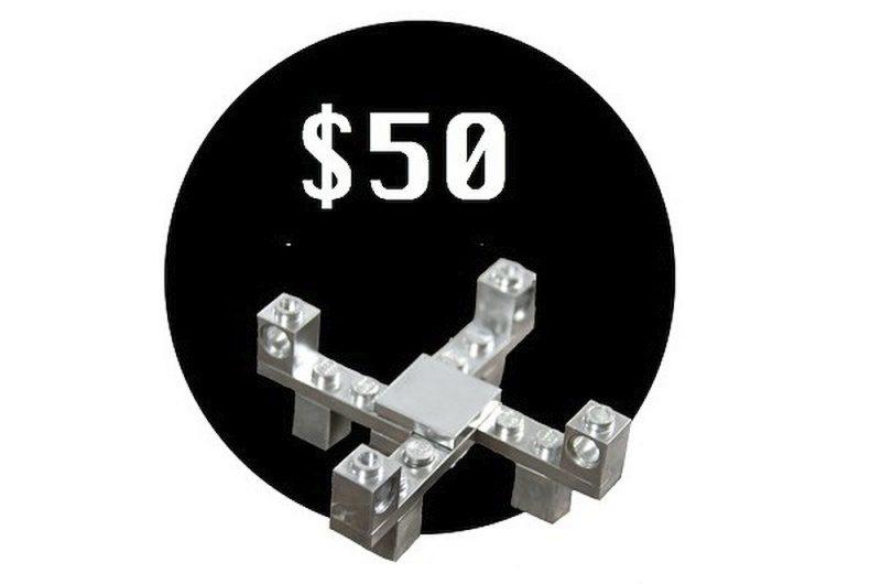 Mini Lego Drone Kit 限量版被塗上銀色,具有強烈的金屬質感,但現已售罄。