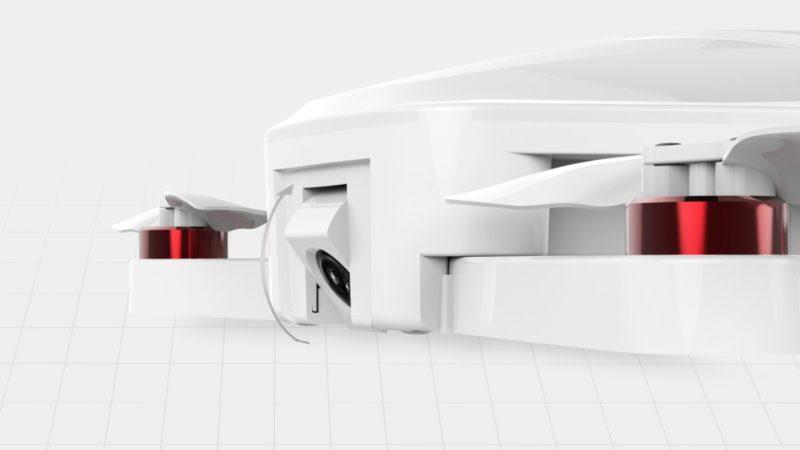 Airwheel F3 的航拍相機鏡頭具備 4K 影片攝錄和電子防震功能,可因應需要調校角度。
