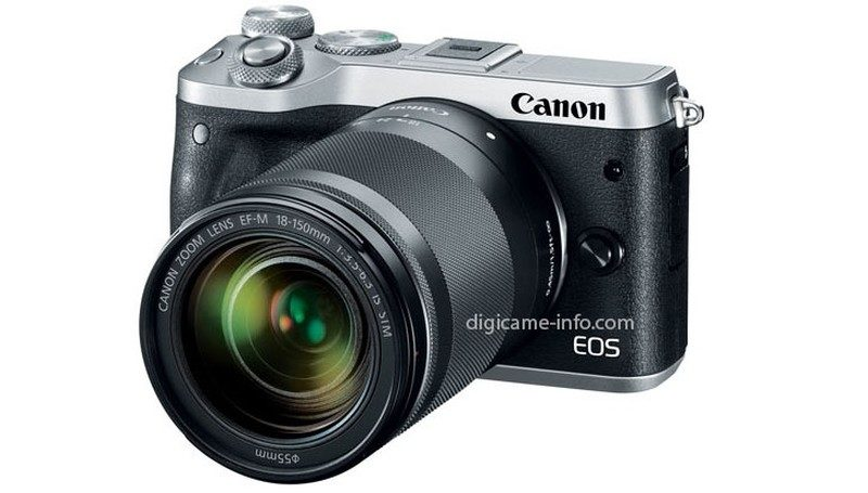 Canon EOS M6 的機身尺寸為 112.0 × 68.0 × 44.5 毫米。