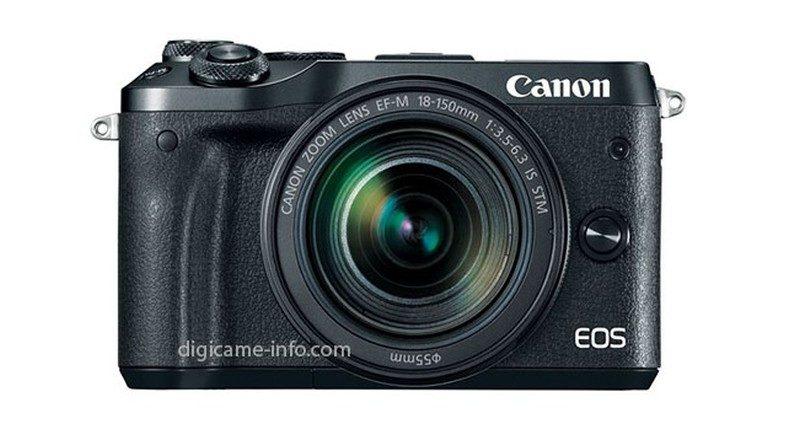 Canon EOS M6 另有全黑色機身版本。