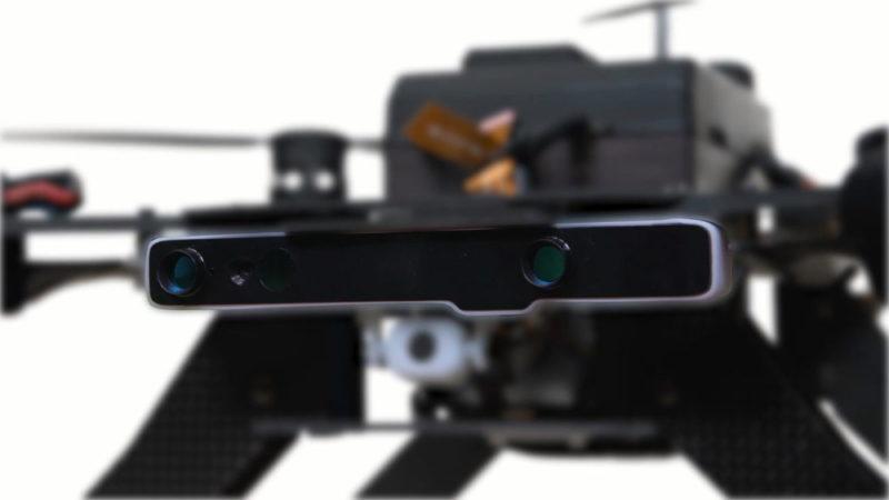 Intel Aero Drone 上的 RealSense 200