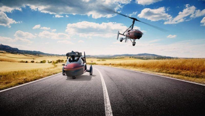 Pal-V Liberty 能以車輛形態行駛,或隨時變形飛天。