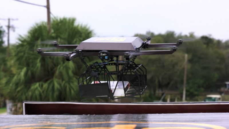 UPS 利用 Workhorse Horsefly 無人機系統測試家居送貨 - 無人機