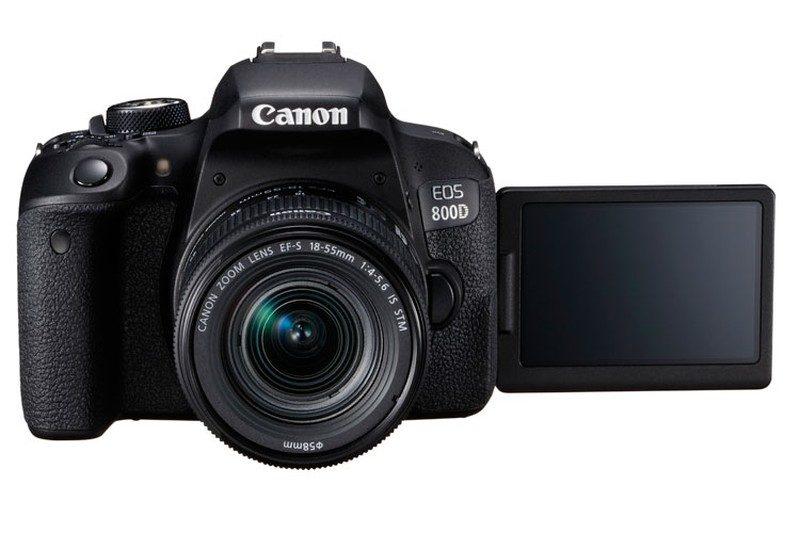 Canon EOS 800D 同樣具有 3 吋可翻轉觸控屏幕。